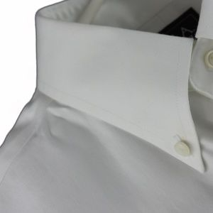 Jos A Bank White Dress Shirt 16.5 34 Non Iron